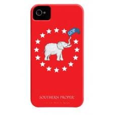 iPhone Case Red GOP